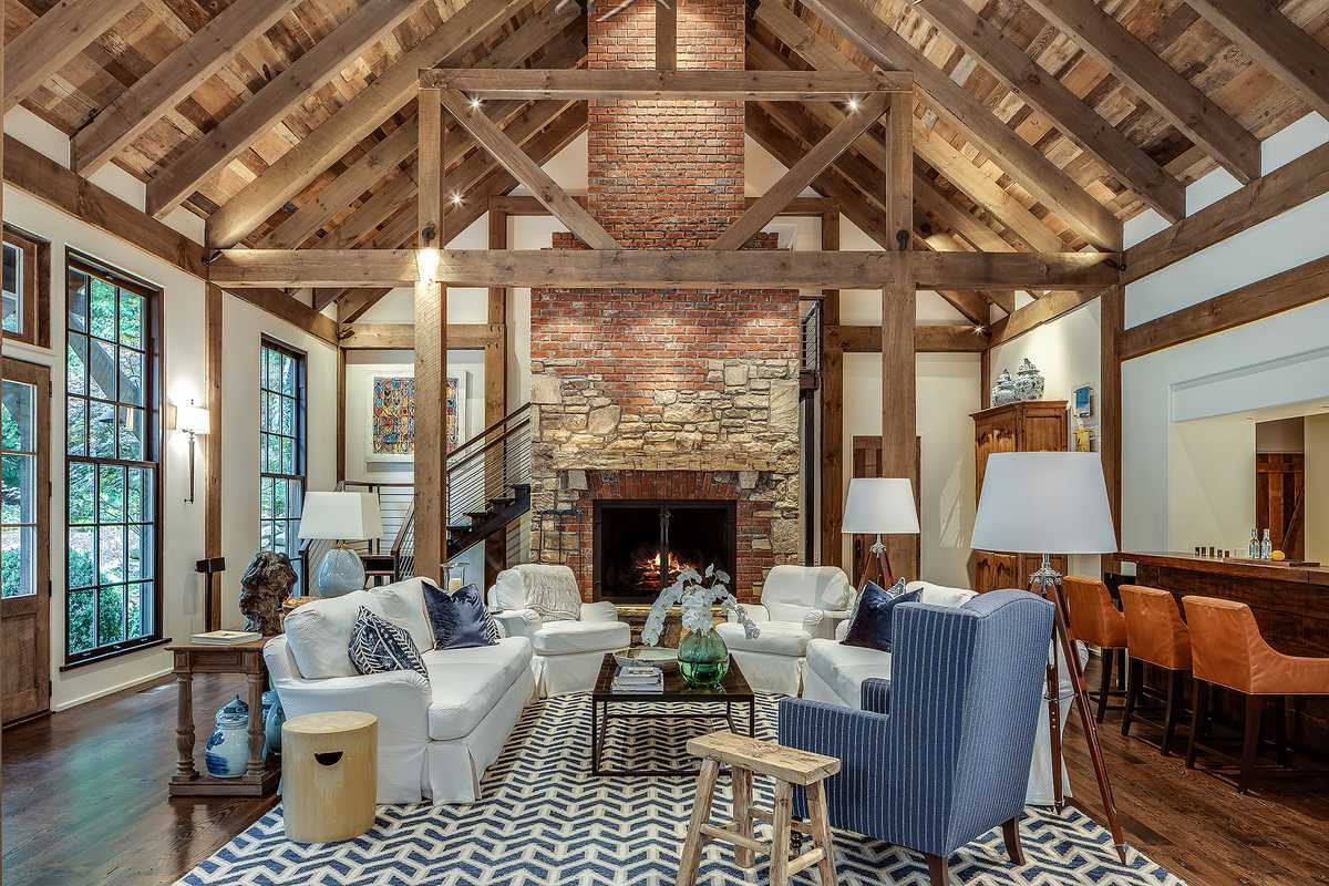 Cedar Hill family room