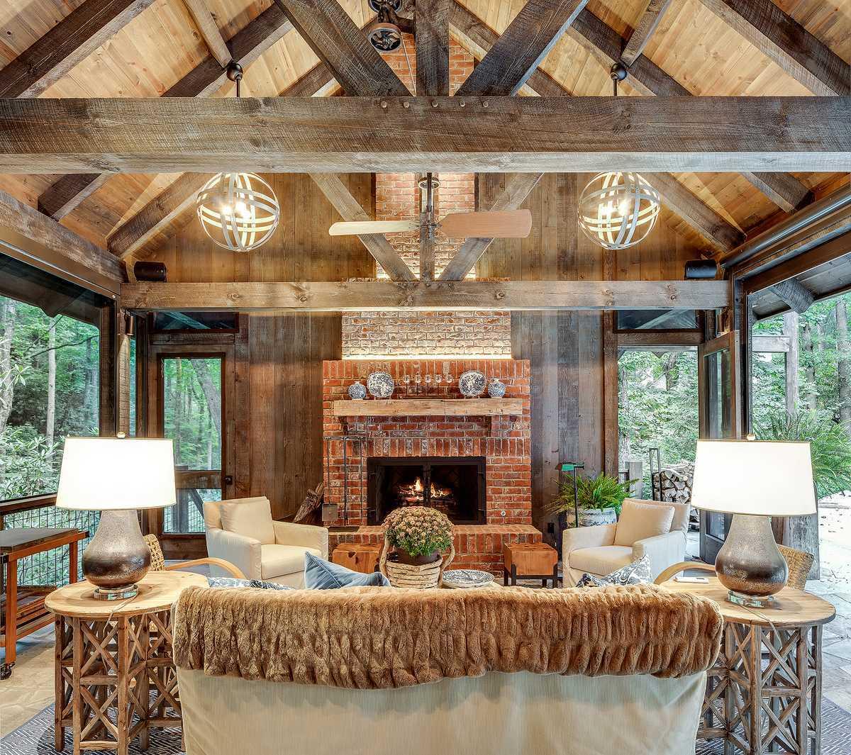 Cedar Hill living room