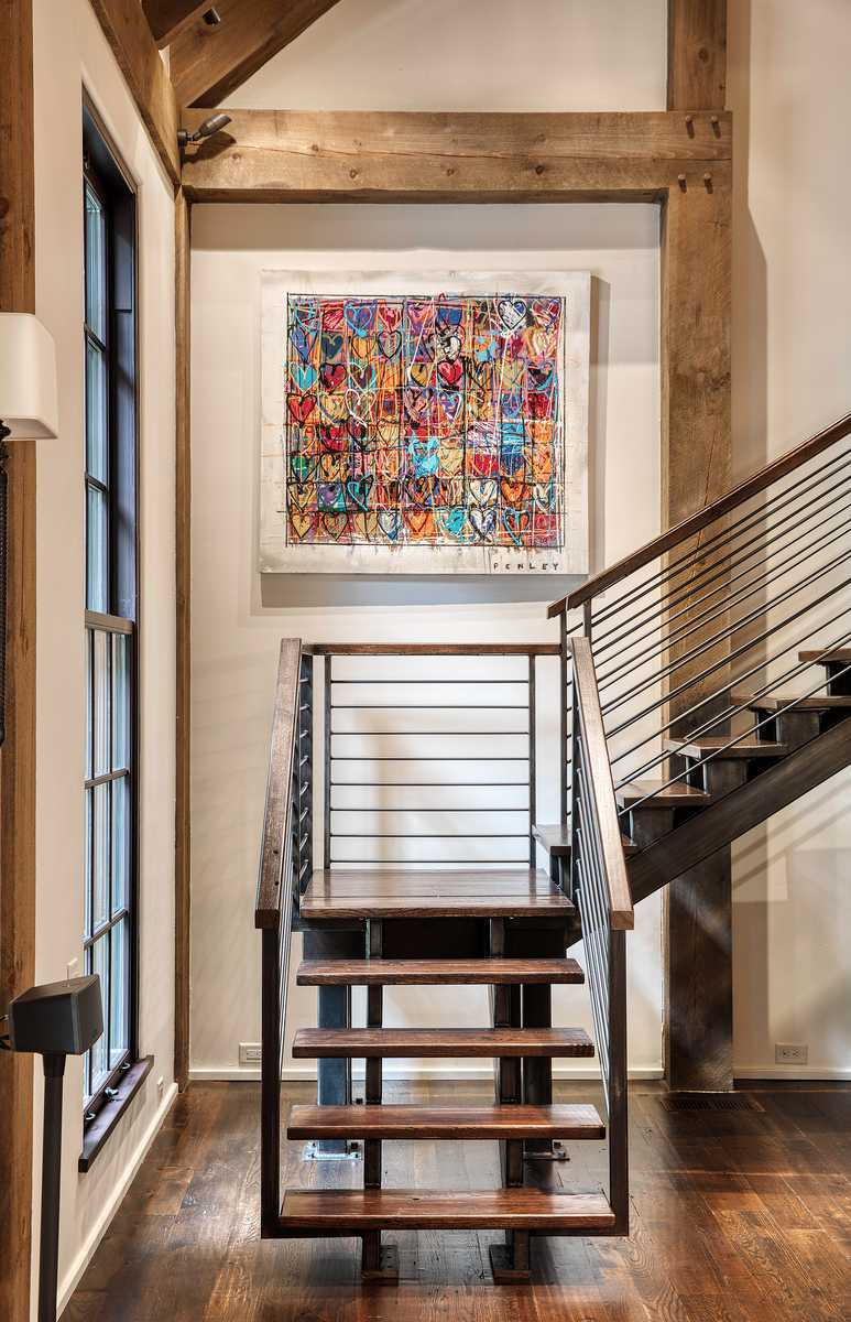 Cedar Hill staircase