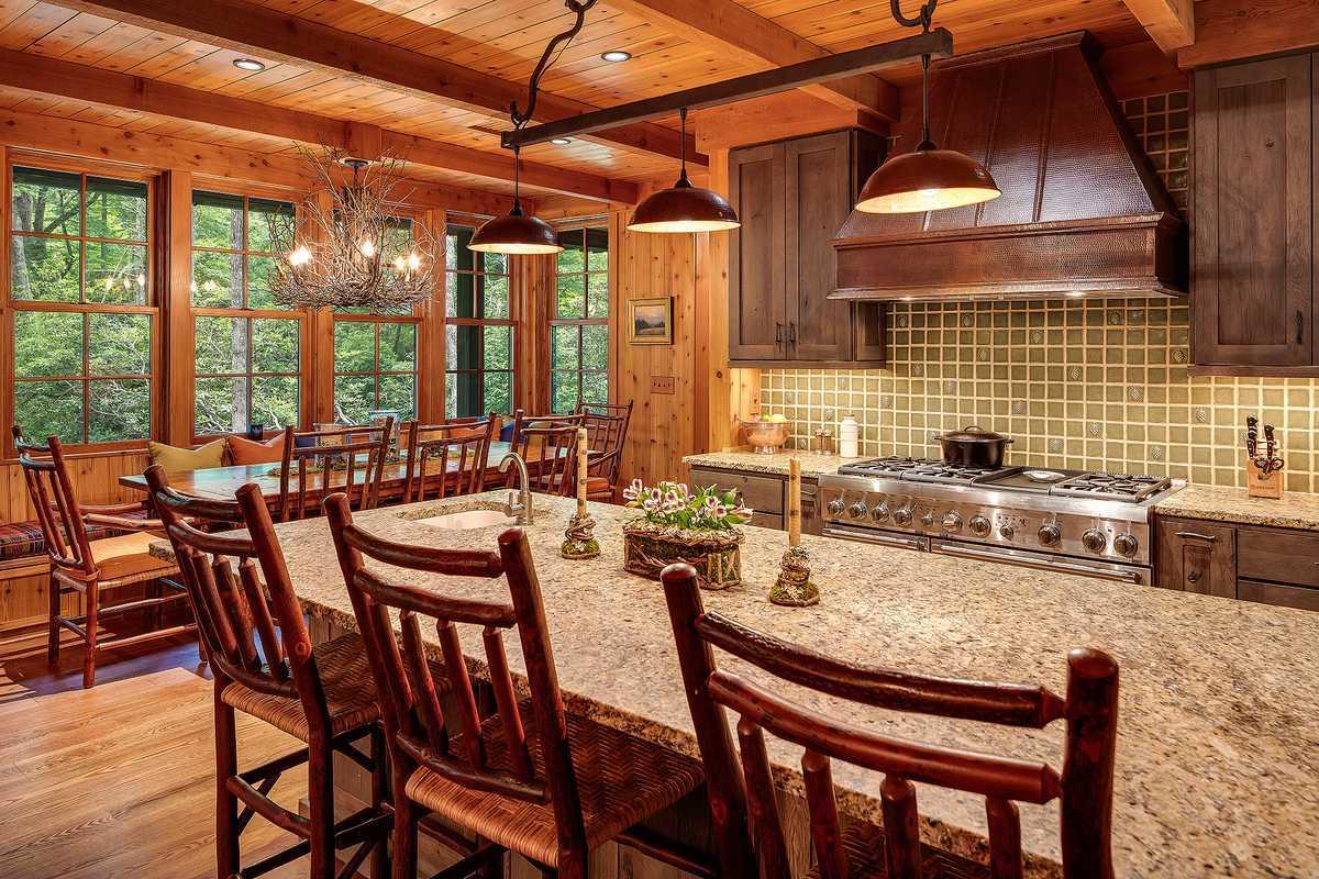 Lonesome Valley kitchen